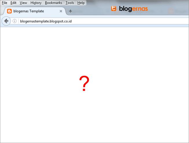 Cara Mengosongkan Template Blog Menjadi Blank