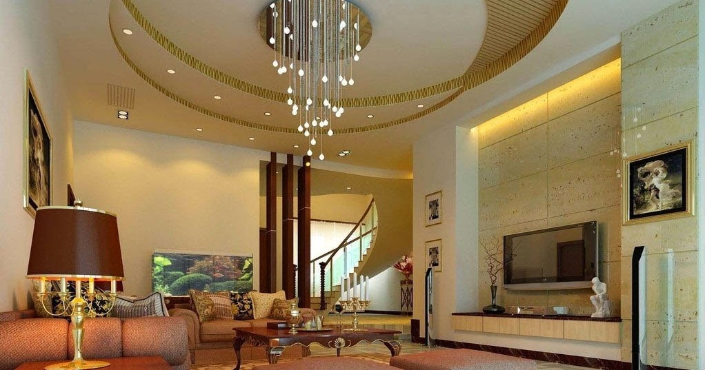 Unique plasterboard ceiling design and Drywall
