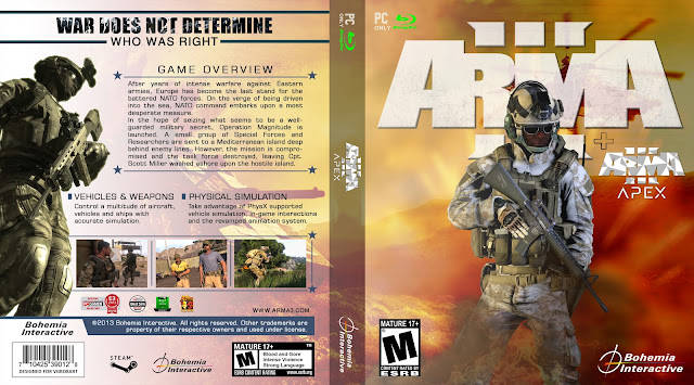 Capa Arma 3 Apex PC