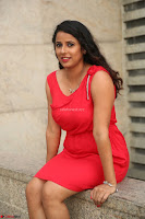 Shravya Reddy in Short Tight Red Dress Spicy Pics ~  Exclusive Pics 093.JPG