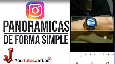 Crear Fotos Panorámicas para Instagram - Trucos Instagram