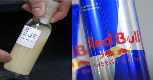 what are in a can of red bull