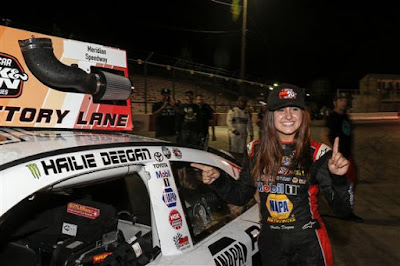 Hailie Deegan - First Woman #Winner in the #NASCAR K&N Pro Series