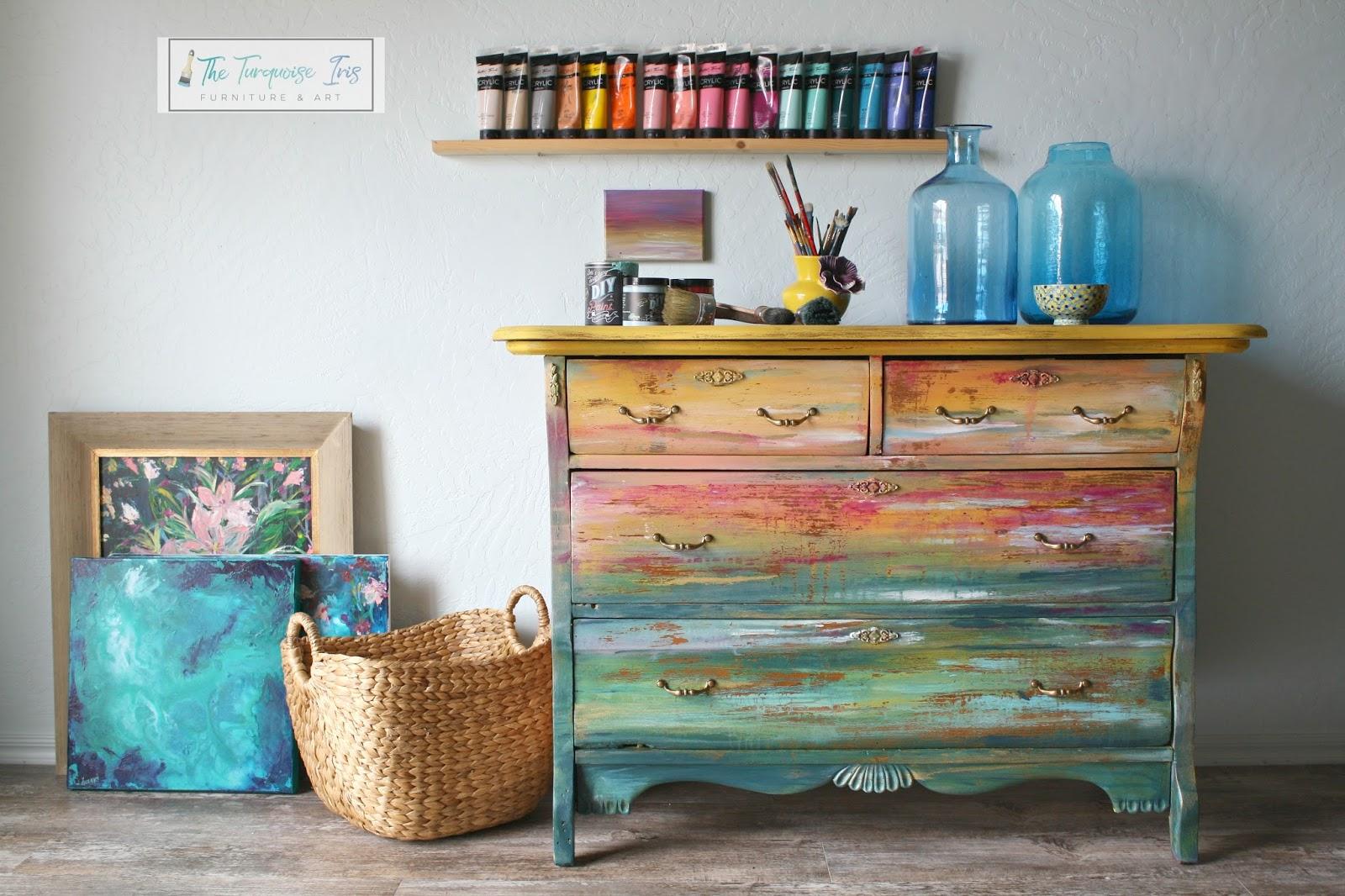 the turquoise iris furniture art rh theturquoiseiris blogspot com diy painted furniture ideas diy painted furniture ideas