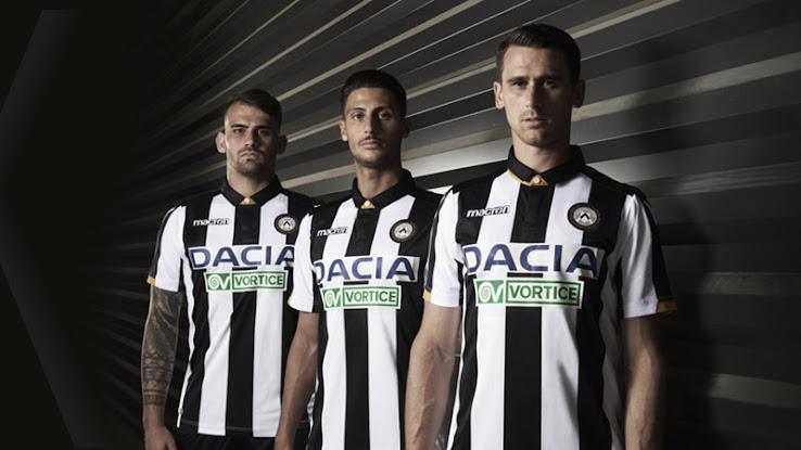 3bda96e6c Italian football club Udinese Calcio and their new kit supplier Macron  released new home kit for the 2018-2019 season.