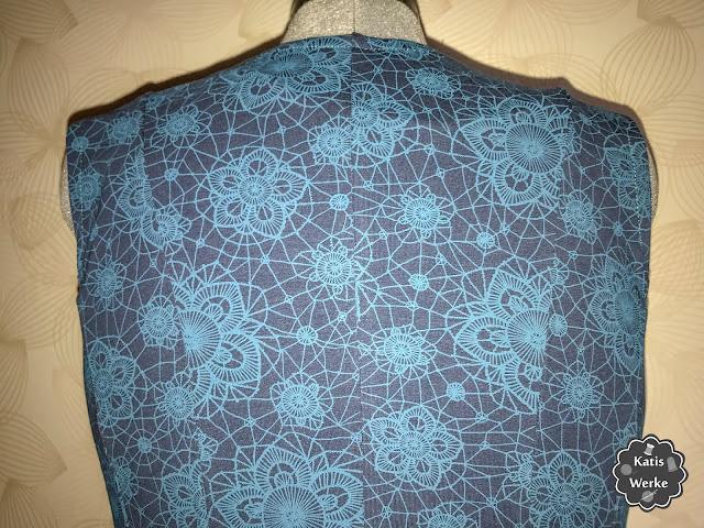 Kleid Marie von PattyDoo - Rückenansicht oben