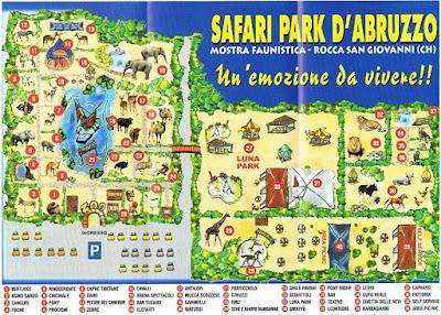 Mappa Zoo d'Abruzzo