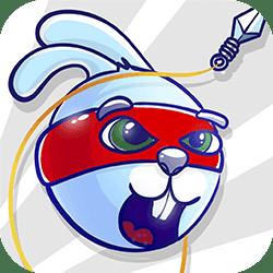 الأرنب الساموراي في مغامرة كبيرة لمساعدة معلمه . هدفك هو العثور على جميع الفئران وإنقاذهم من مخبأ الذئب. استخدام الحبل والشنق تصارع على التحليق فوق الأرض. إطلاق نفسك من مدفع النينجا ، وجمع كل الجزر والعثور على بلورات خفية. تجنب طفرات خطرة!