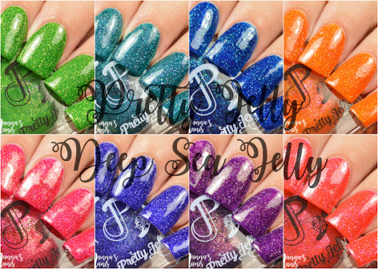 Pretty Jelly Deep Sea Jelly Swatches & Review
