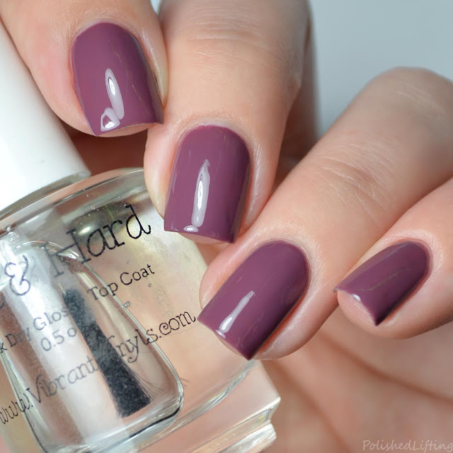 clear scented nail polish top coat
