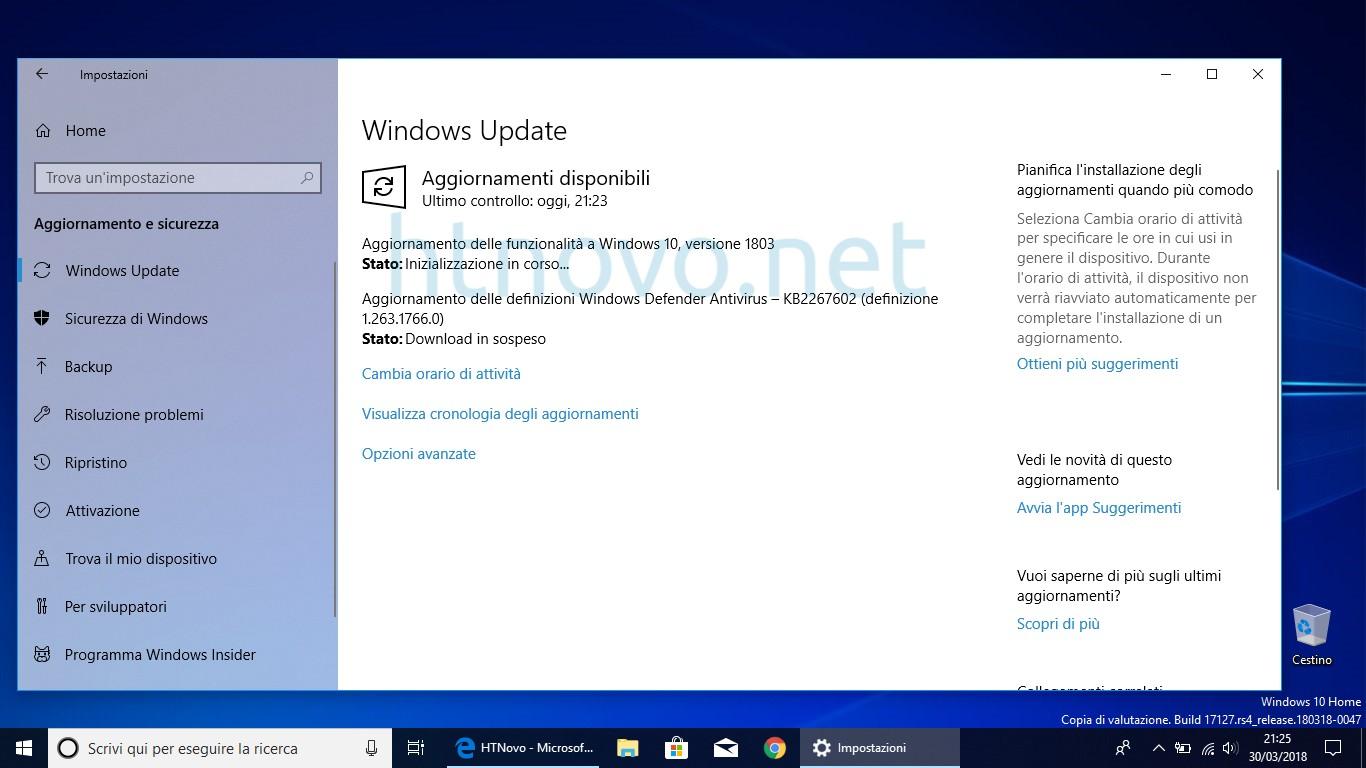 Aggiornamento-delle-funzionalità-a-Windows-10-versione-1803