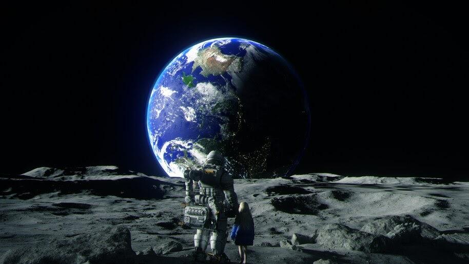 Pragmata, Game, Earth, Space, 4K, #5.2144