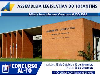 Apostila Assembleia Tocantins 2016 - Assistente Legislativo (AL/TO)