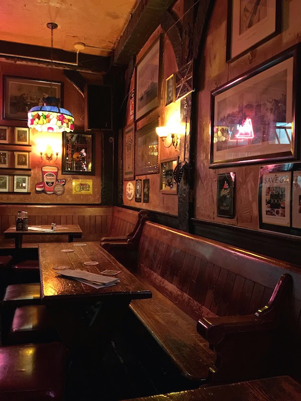 Seating at Horse Brass Pub