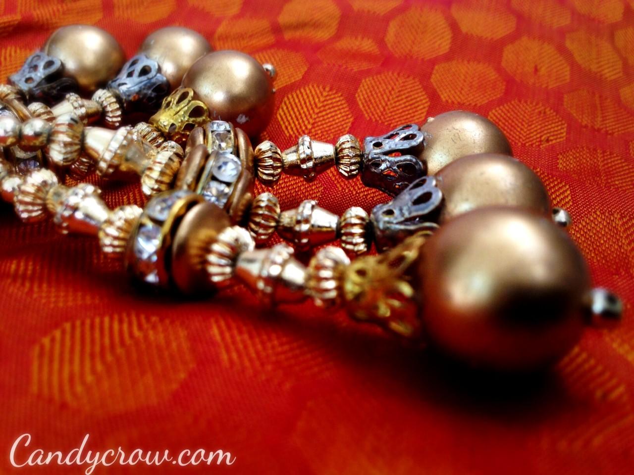 Kanchipuram silk saree blouse tassels
