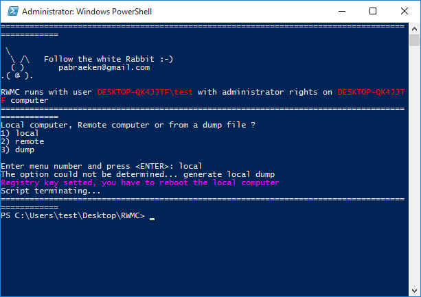 Powershell - Reveal Windows Memory Credentials - The World of IT