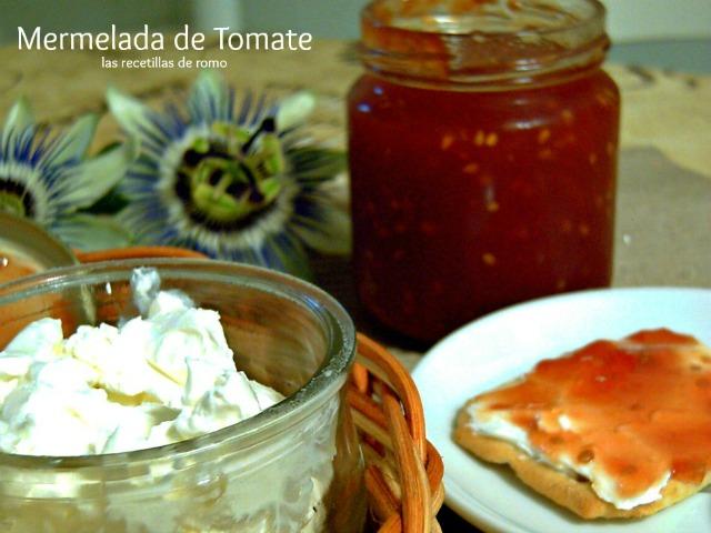 """Mermelada de tomate"""