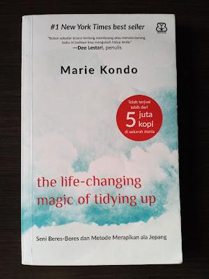 Cover Buku The Life-Changing Magic Of Tidying Up