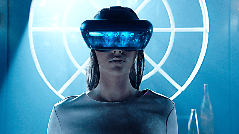Be a Jedi with the Lenovo Mirage AR Glasses