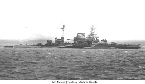 20 March 1941 worldwartwo.filminspector.com HMS Malaya