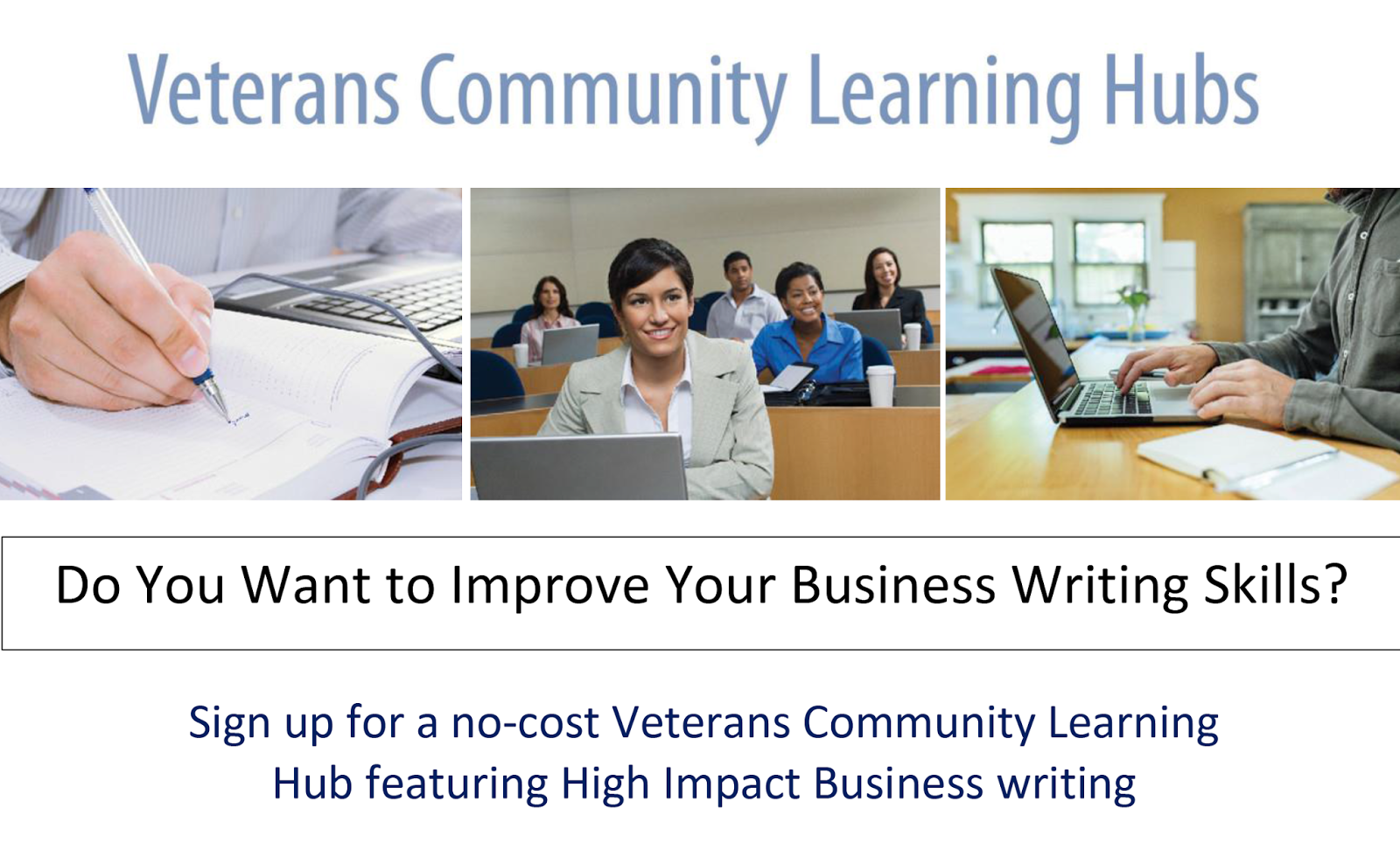 Rio Salado College RioNews Free Business Writing Course For Vets LearningBHubs Free Business Writing Course For Vets