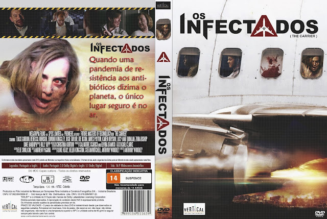 Capa DVD Os Infectados