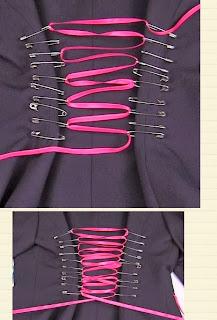 Ceketin Bek Kısmını Daraltma Modeli