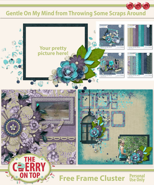 Flower Power Templates Scrapbook Fast and Beautifully With The Cherry On Top