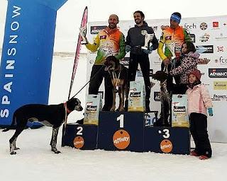 Campeonato España Mushing Nieve