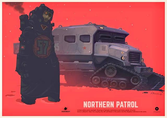 Andrey Tkachenko - Northern Patrol