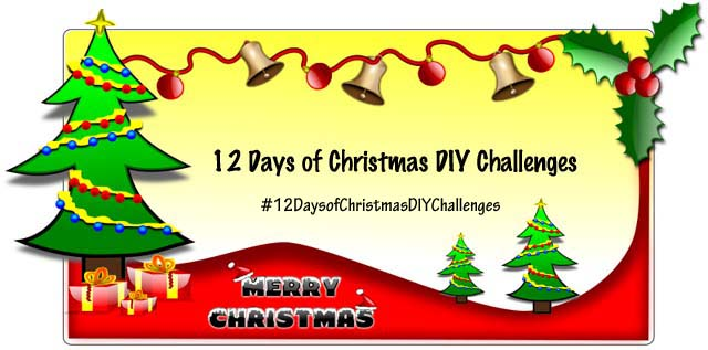 12 Days of Christmas DIY Challenges ~ Threading My Way