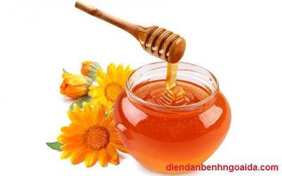 Công thức trị mụn hiệu quả từ mật ong
