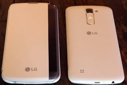 O LG K10 tem uma ótima câmera para selfies com 8 MP