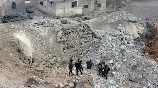 HRW: AS Bertanggung Jawab Tewasnya Puluhan Sipil di Masjid Umar bin Khattab Aleppo