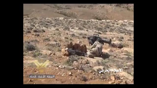 Μέλος της Hezbollah με Α-Τ πύραυλο MILAN
