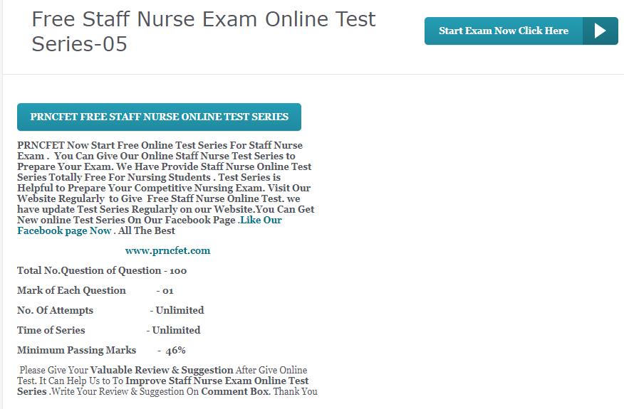 latest staff nurse recruitment