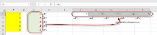 Transponer Vínculos en Excel