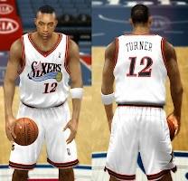 NBA 2k14 Philadelphia 76ers Jersey Patch