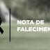 NOTA DE FALECIMENTO (MORRE WALDICI ,FILHA DE AMORÉSIO DO SURUBIM DE IBITIARA-BA