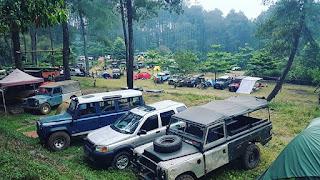 Offroad Camp Tours Gunung Pancar