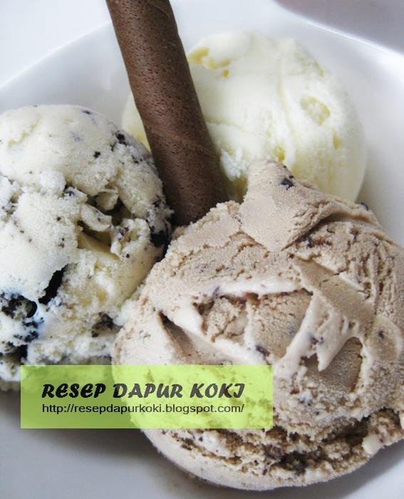 es krim oreo,cara membuat es krim oreo