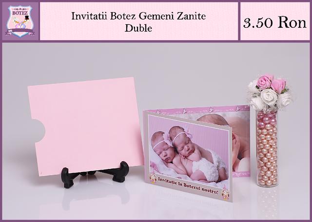 produse asortate botez gemeni fata-fata Zanite