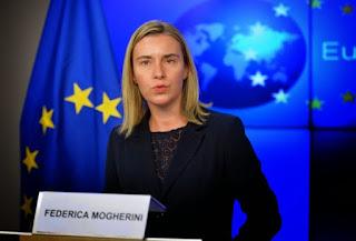 Η Ύπατη Εκπρόσωπος της ΕΕ για την εξωτερική πολιτική