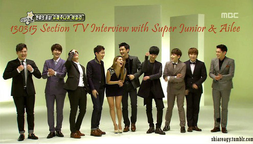 Eng Sub] 130315 Section TV Super Junior & Ailee Interview - www K24H com