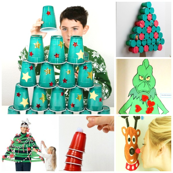 Group Games For Christmas Party: Christmas Activities And Crafts
