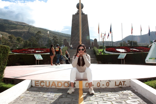 Middle of the world in Quito, Ecuador