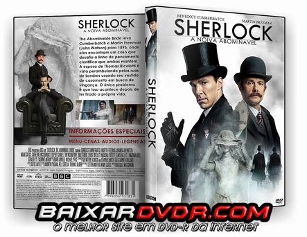SHERLOCK – A NOIVA ABOMINÁVEL (2016) DUAL AUDIO DVD-R CUSTOM