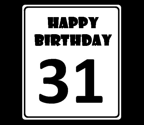 HAPPY 31th BIRTHDAY
