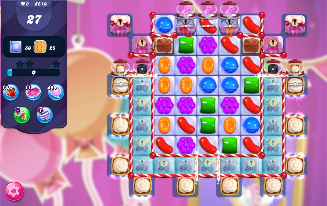 Candy Crush Saga level 5610