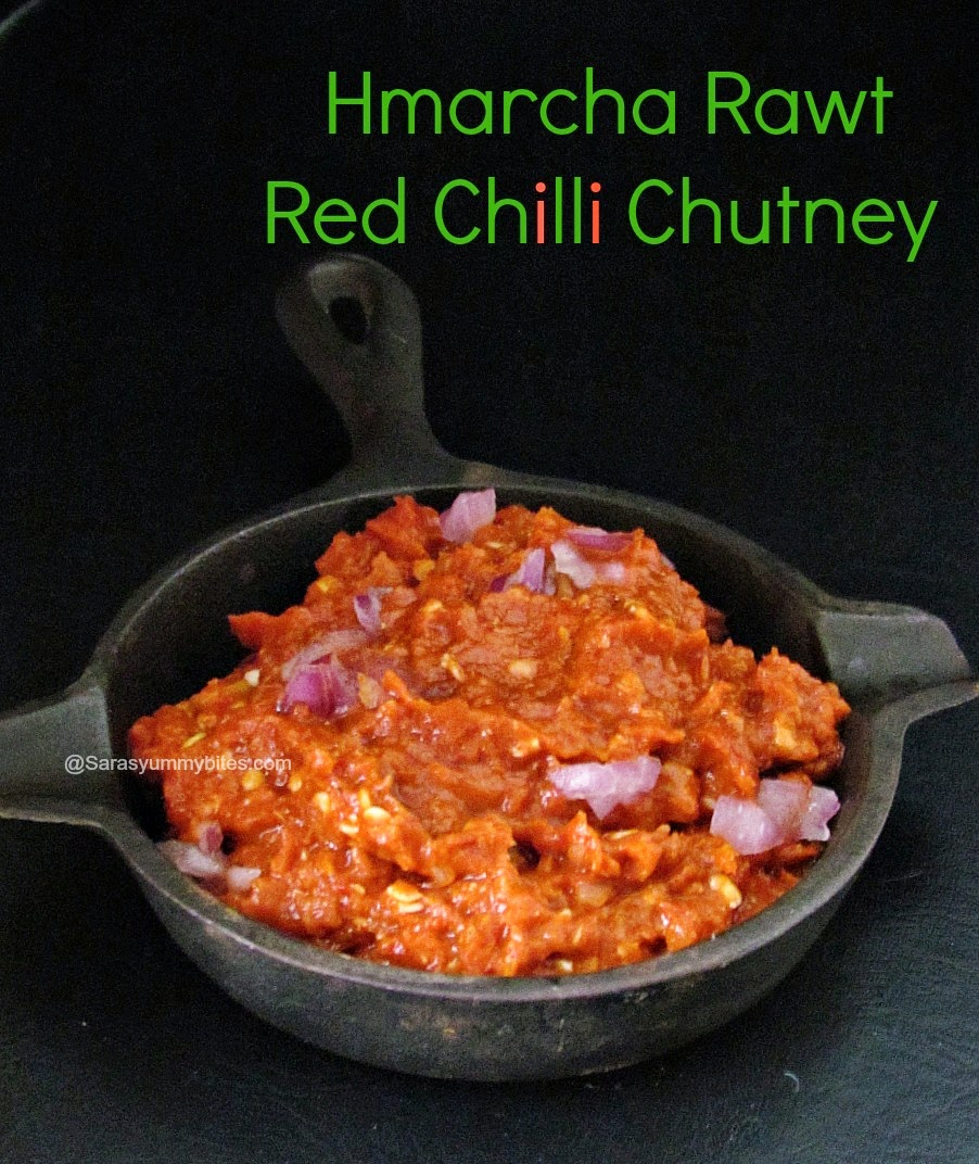Hmarcha Rawt / Red Chilli Chutney